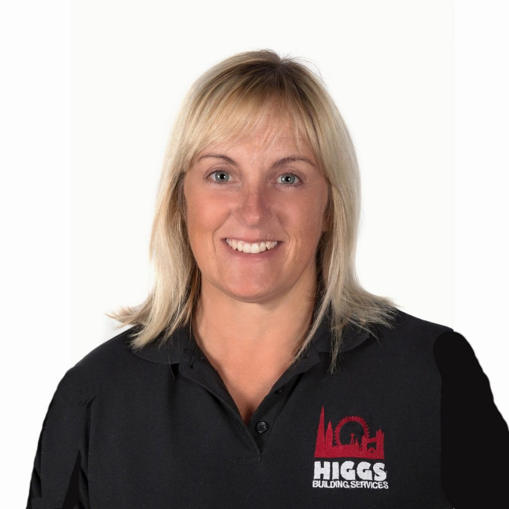 Julie Deboick joined Higgs and supports various roles within the Company – including Customer Care, Health & Safety and Accreditations